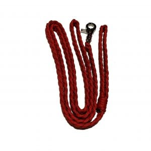 Red Paracord Leash